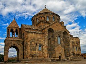 "Ejmiatsin, the spiritual capital of Armenia, where ""Christ has descended"""